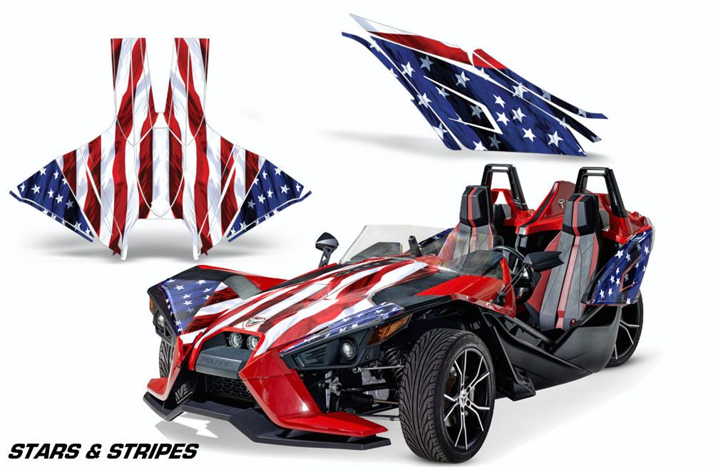 AMR Racing Polaris Slingshot SL Roadster Trim Kit Graphic Wrap Decal ...