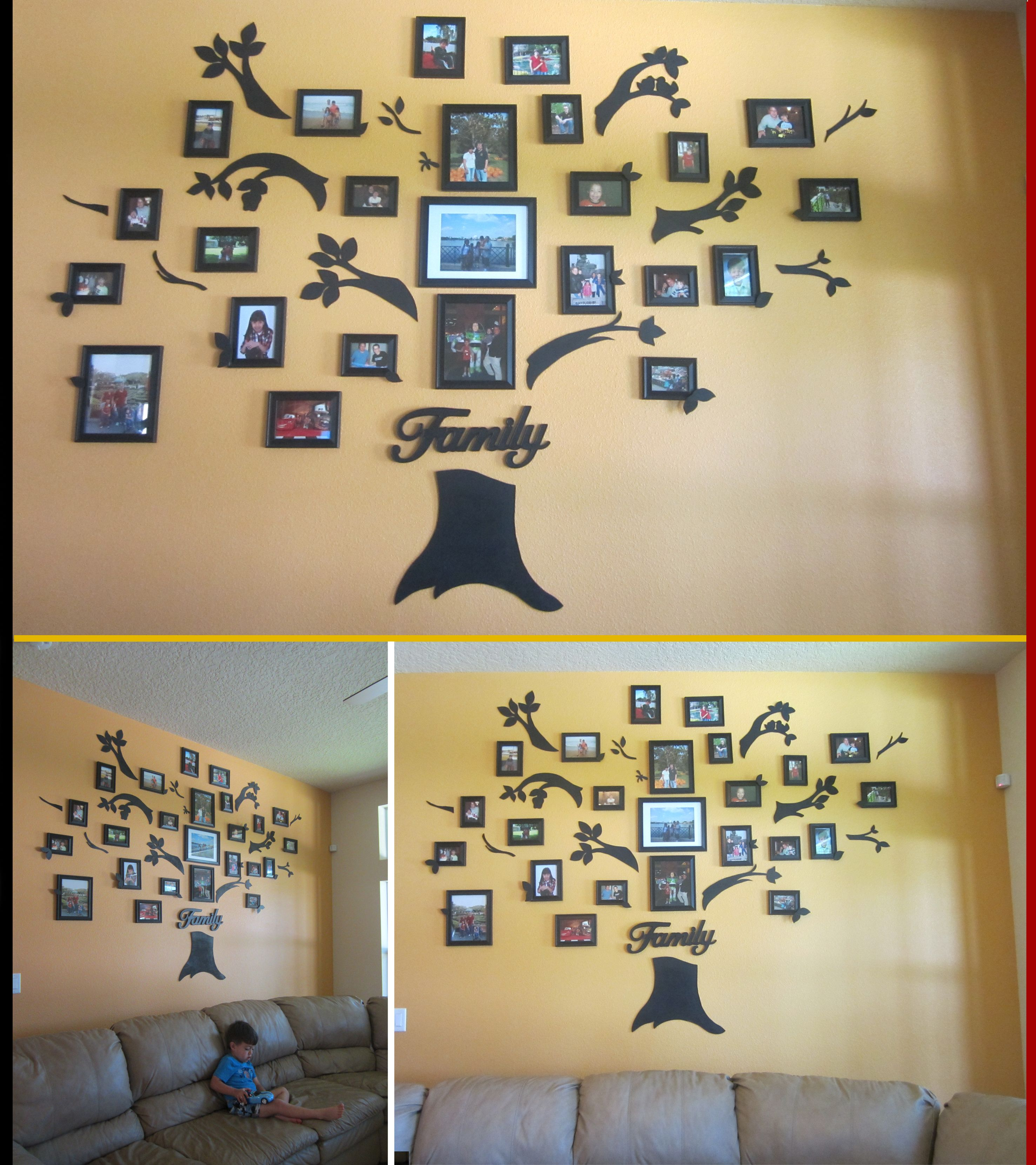 PICTURE FAMILY TREE This was a family project, I made the design, my ...