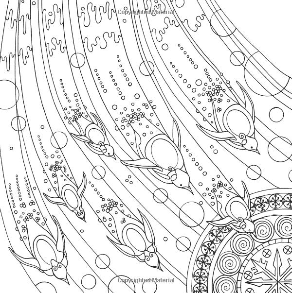 Line Art Underwater : Penguin ocean underwater sea coloring pages colouring