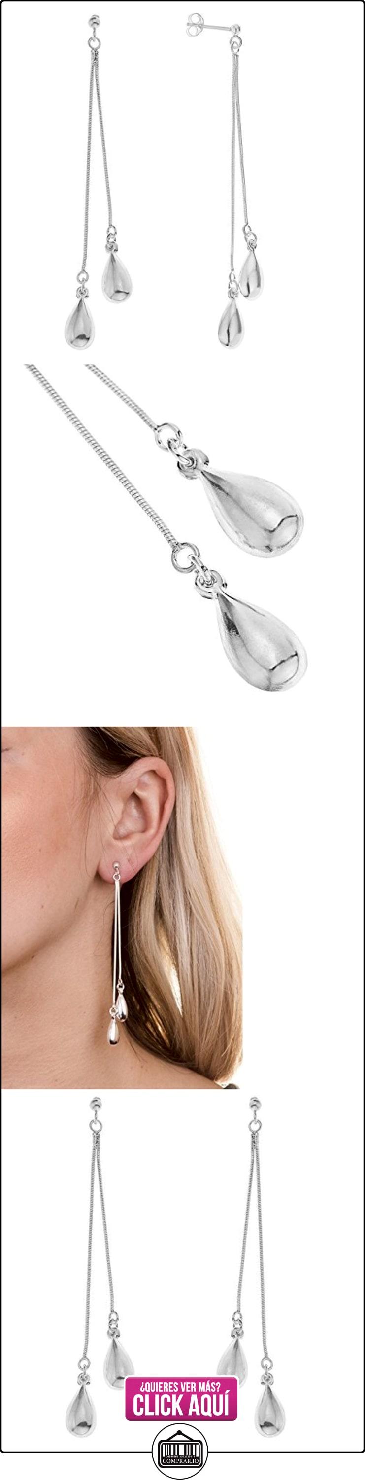 Boucles d'oreille - A13 BEN603159 - Pendientes de mujer de plata, 8 cm  ✿ Joyas para mujer - Las mejores ofertas ✿ ▬► Ver oferta: http://comprar.io/goto/B000RFBQ2Y