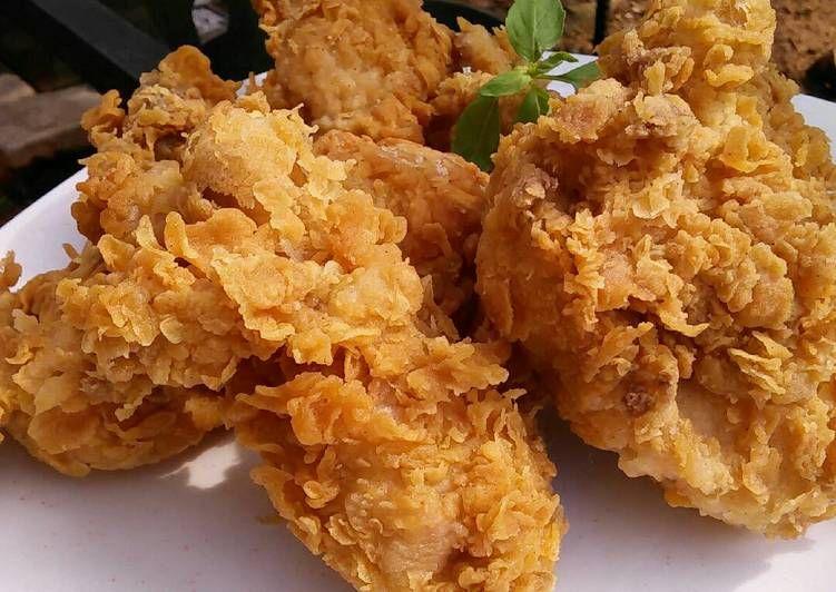 Resep Ayam Goreng Kfc By Yunda Yun Oleh Yunda Yun Resep Ayam Goreng Resep Resep Masakan