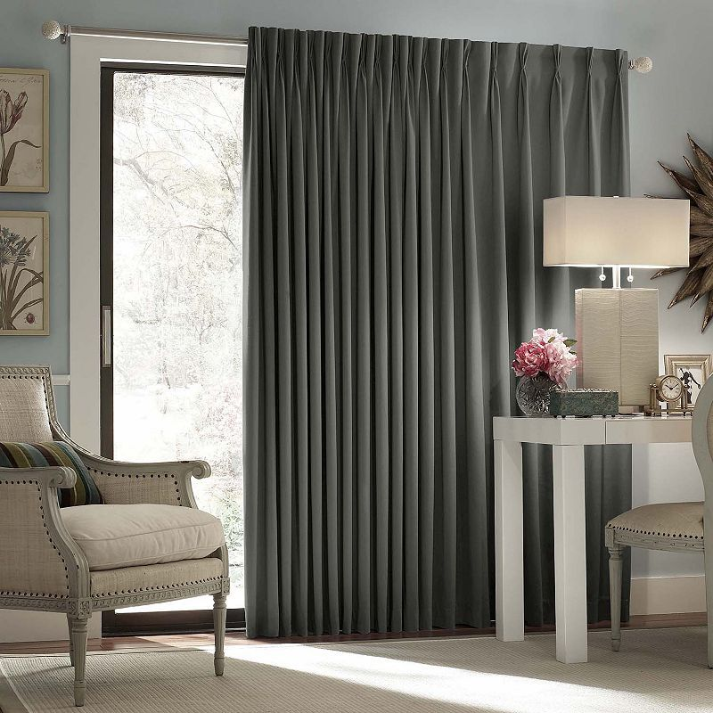 Eclipse Thermal Blackout Patio Door Curtain Patio Door Curtains Sliding Glass Door Curtains Glass Door Curtains Blackout patio door curtains