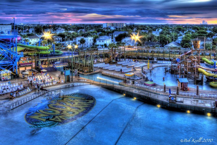 Daytona Lagoon Just After Sunset | Photos and Sunsets