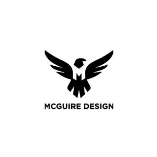 McGuire Designのロゴ:単純にカッコいいということ   ロゴストック