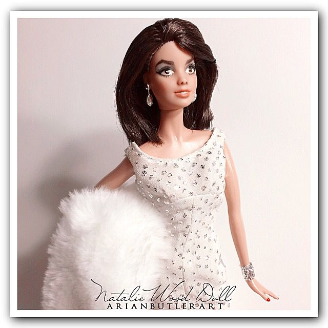 Customized Natalie Wood doll by Arian Butler. #OOAK #ooakdoll #doll #oneofakind #customized #customizeddoll #doll #repaint #dollrepaint #dollrestyle #restyle #natalie #wood #nataliewood #nataliewooddoll #happybirthdaynataliewood #old #hollywood #oldhollywood #oldhollywooddoll #celebrity #celebritydoll #classicfilmstar #classic #film #star