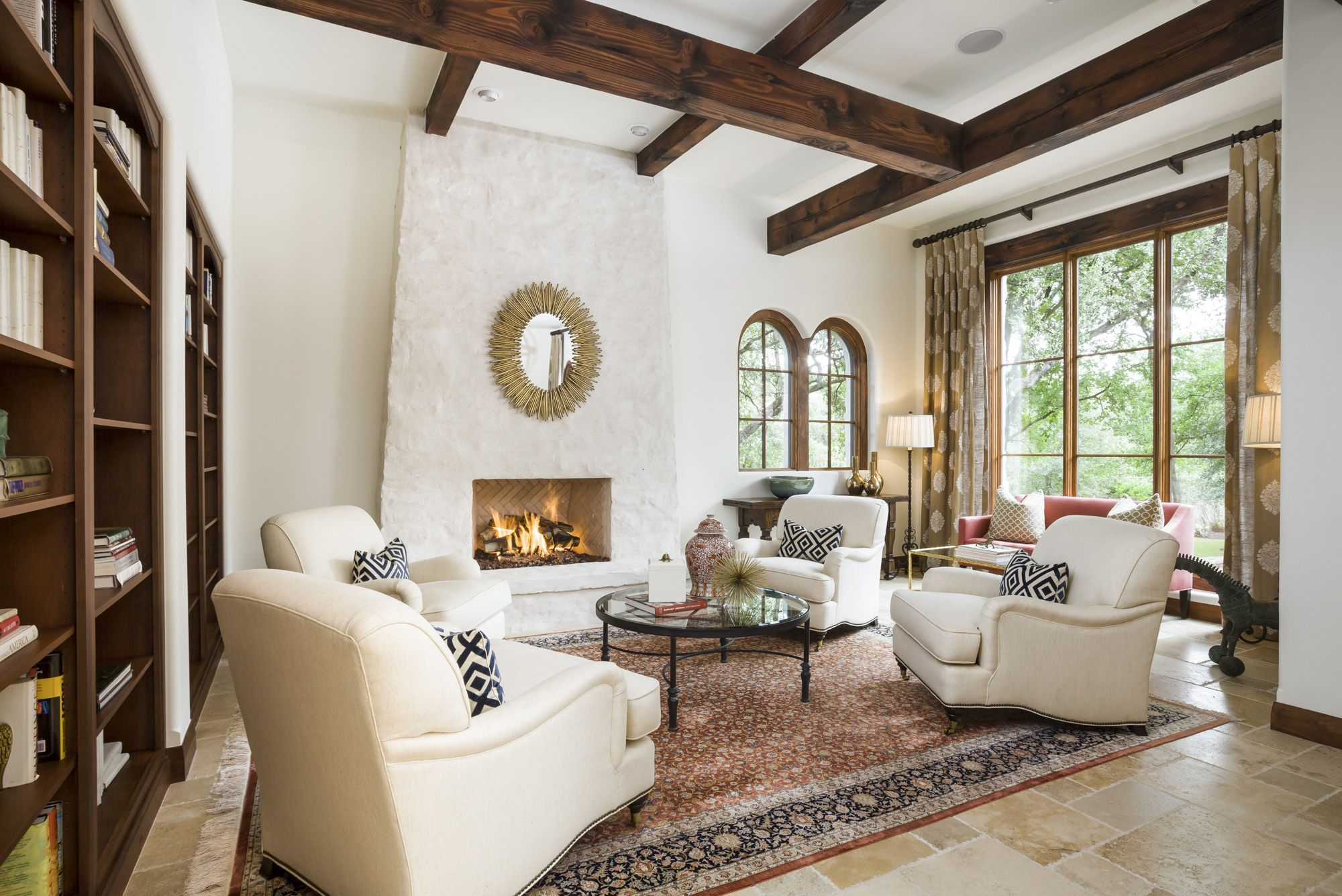 Beautiful Texas Living Room By Wrightinteriors Love The Look Of