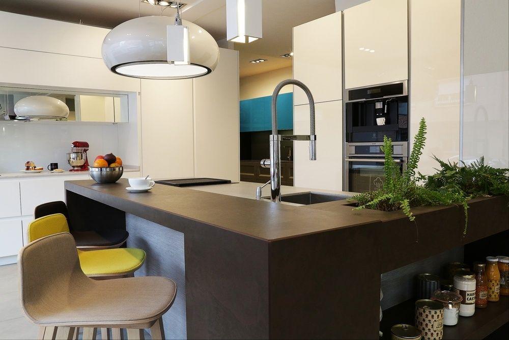 Cocina Modelo Cocina Isla Diseño de Línea 3 Cocinas | Showroom de ...