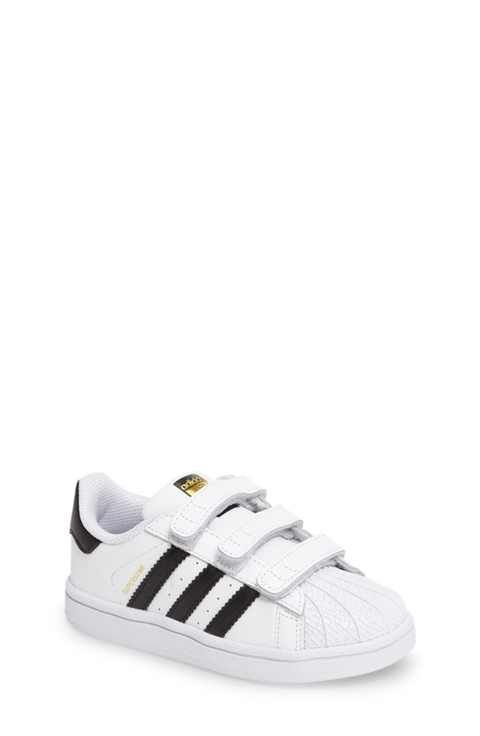 adidas Superstar Foundation Sneaker (Baby, Walker & Toddler