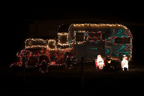 Christmas in a Mobile Home | CRAZY FOR CHRISTMAS | Pinterest ...