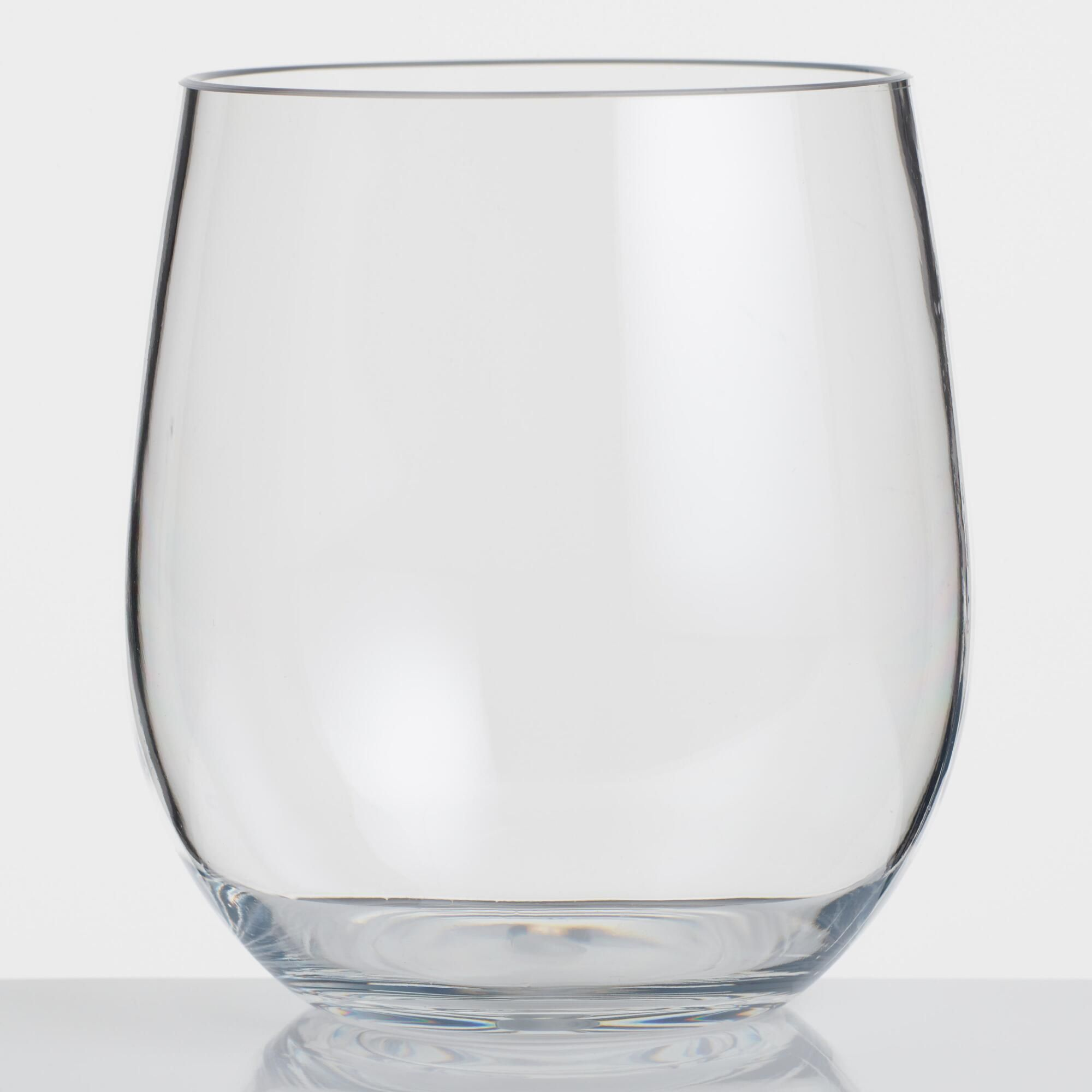 b6c406df8e9 Acrylic Stemless Wine Glasses Set of 6 by World Market | Products ...