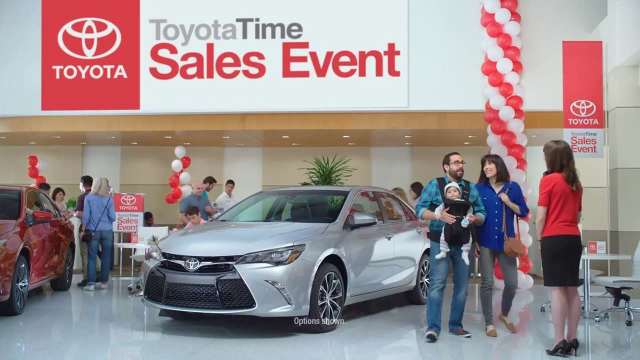 Toyota S Event Commercial 2016 Camry