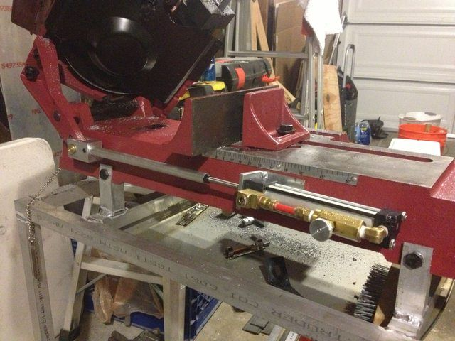 4x6 Bandsaw Stand And Down Feed Ideas For Future Tools