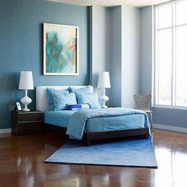 cool modern master light blue bedroom decorating ideas with blue   Bedroom, Blue Room Ideas : Light Blue Bedroom Walls With ...