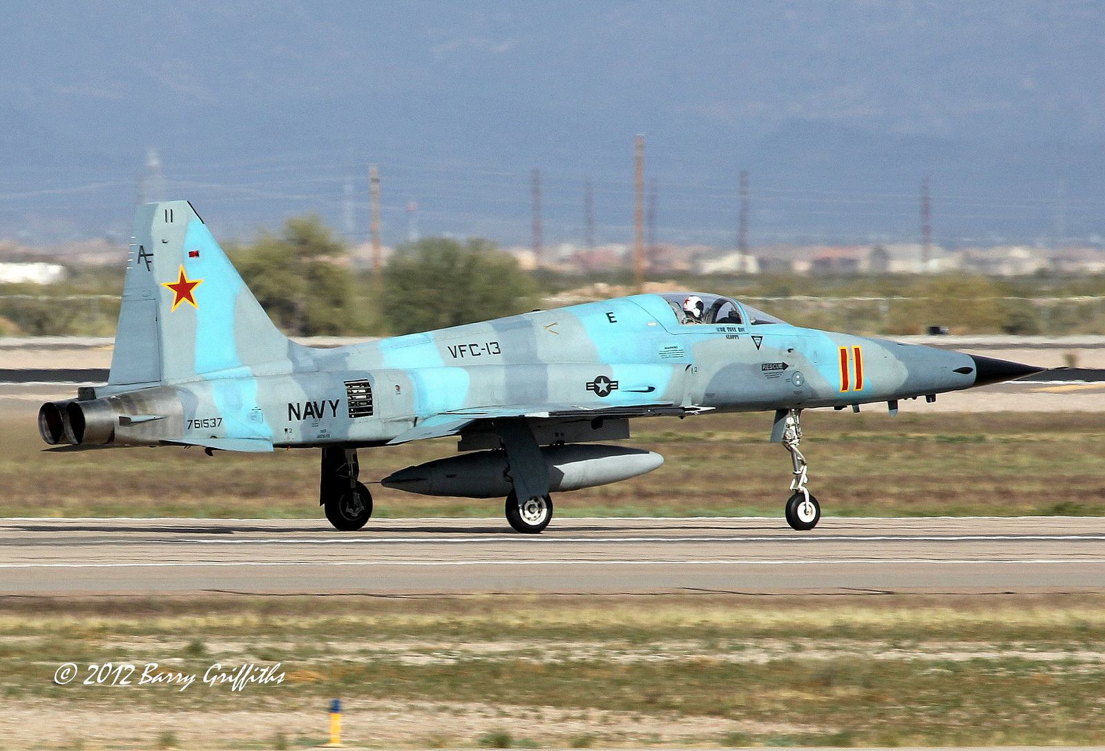Northrop F5N Tiger II US Navy 761537 VFC13 Aggressor