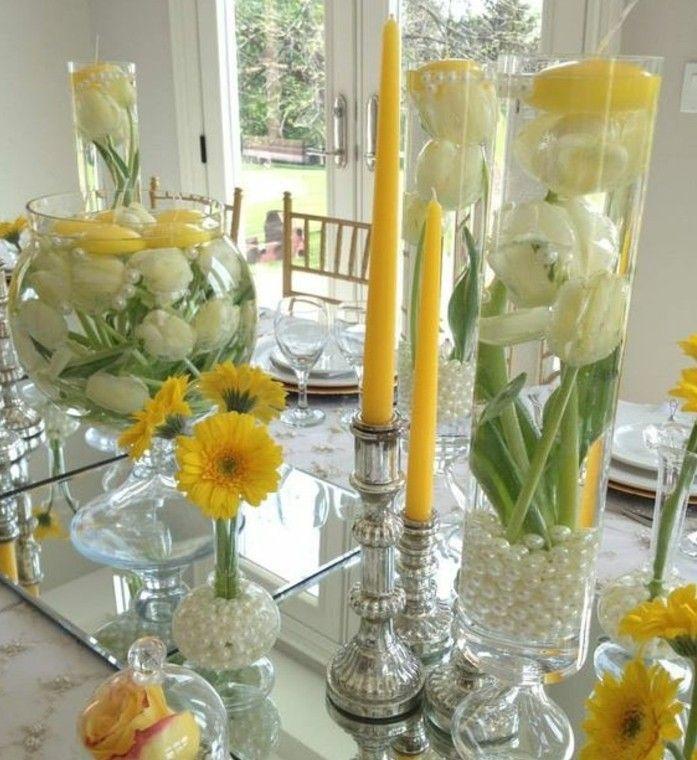 Déco table Pâques - 60 idées qui vos invités n'oublieront jamais | Déco table pâques, Maison de ...