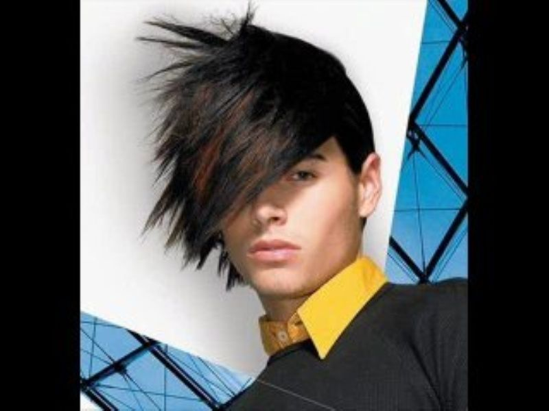 Emo Long Haircuts For Men Mens Hairstyles Thick Hair