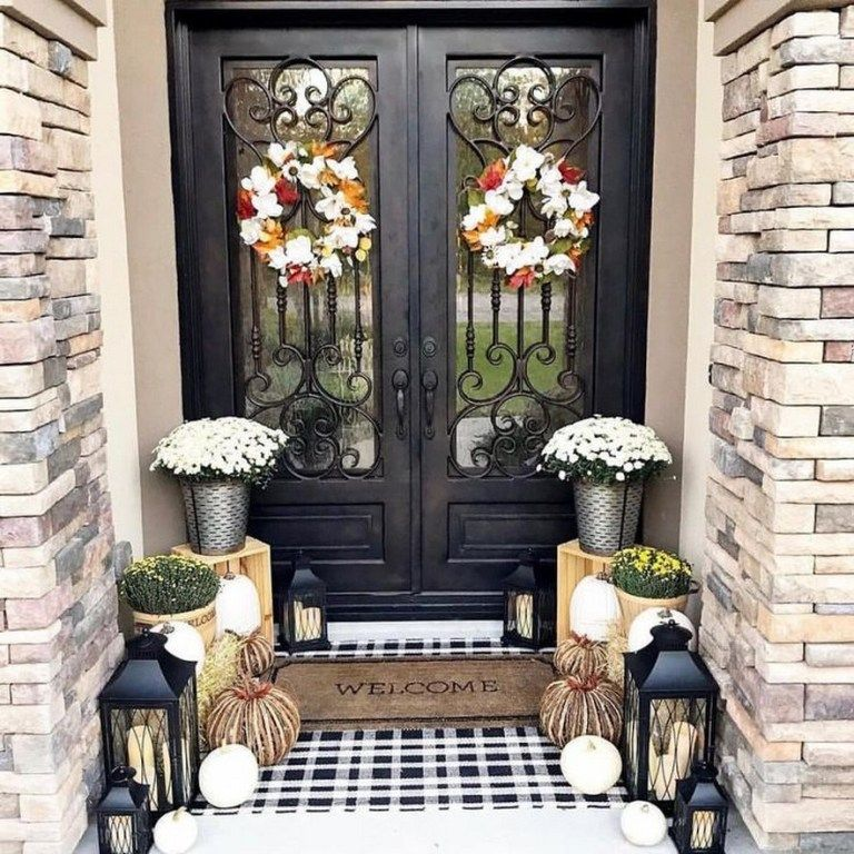 ✔47 beautiful front porch decorating ideas for your home 13 #smallporchdecorating