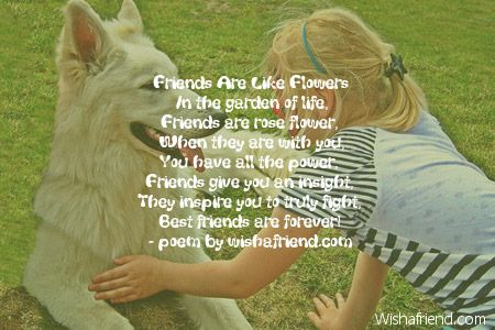 Friends Are Like Flowers In The Garden Of Life Friends Are Rose