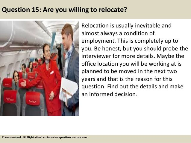 Question 15 Are You Willing To Relocate Relocation Is Usually
