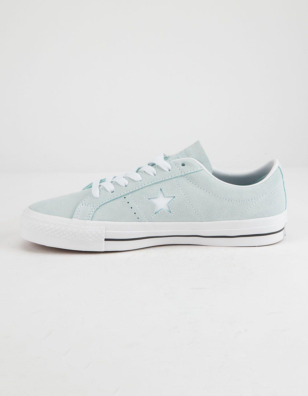 Elegante lazo desierto  CONVERSE One Star Pro OX Teal Tint Shoes - TEAL - 335879034 in 2020   Converse  one star, Converse, One star