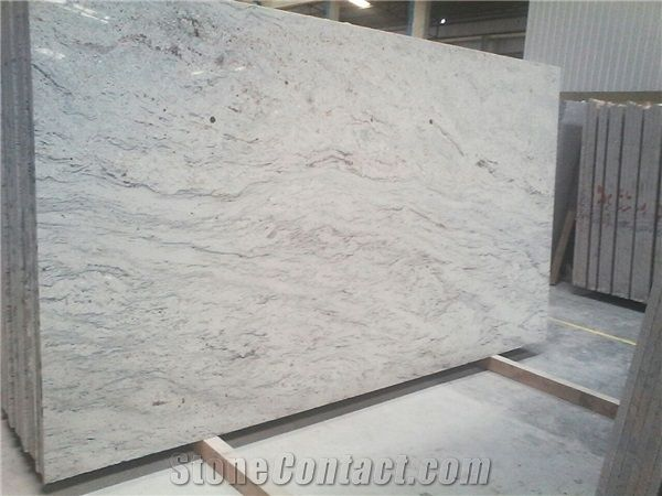 River White Granite Slabs, India White Granite More
