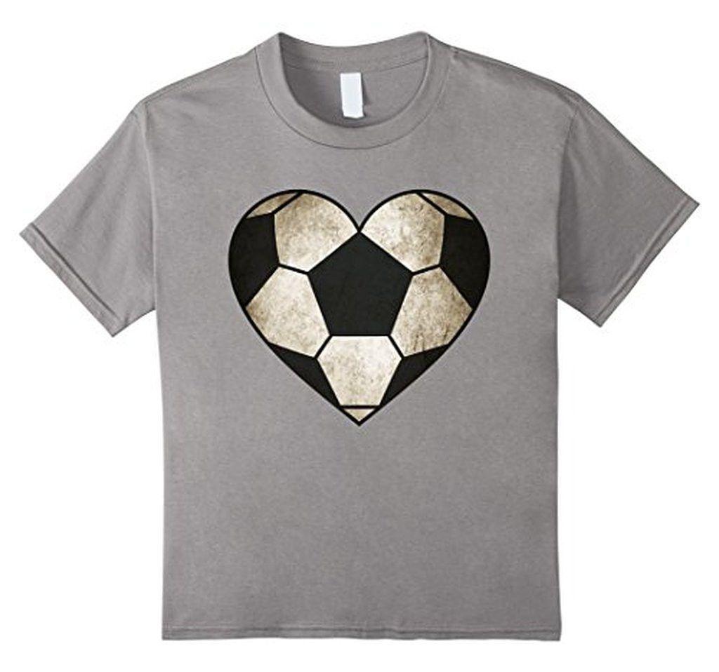 BelDisegno - Love Football Soccer Heart Ball T-shirt