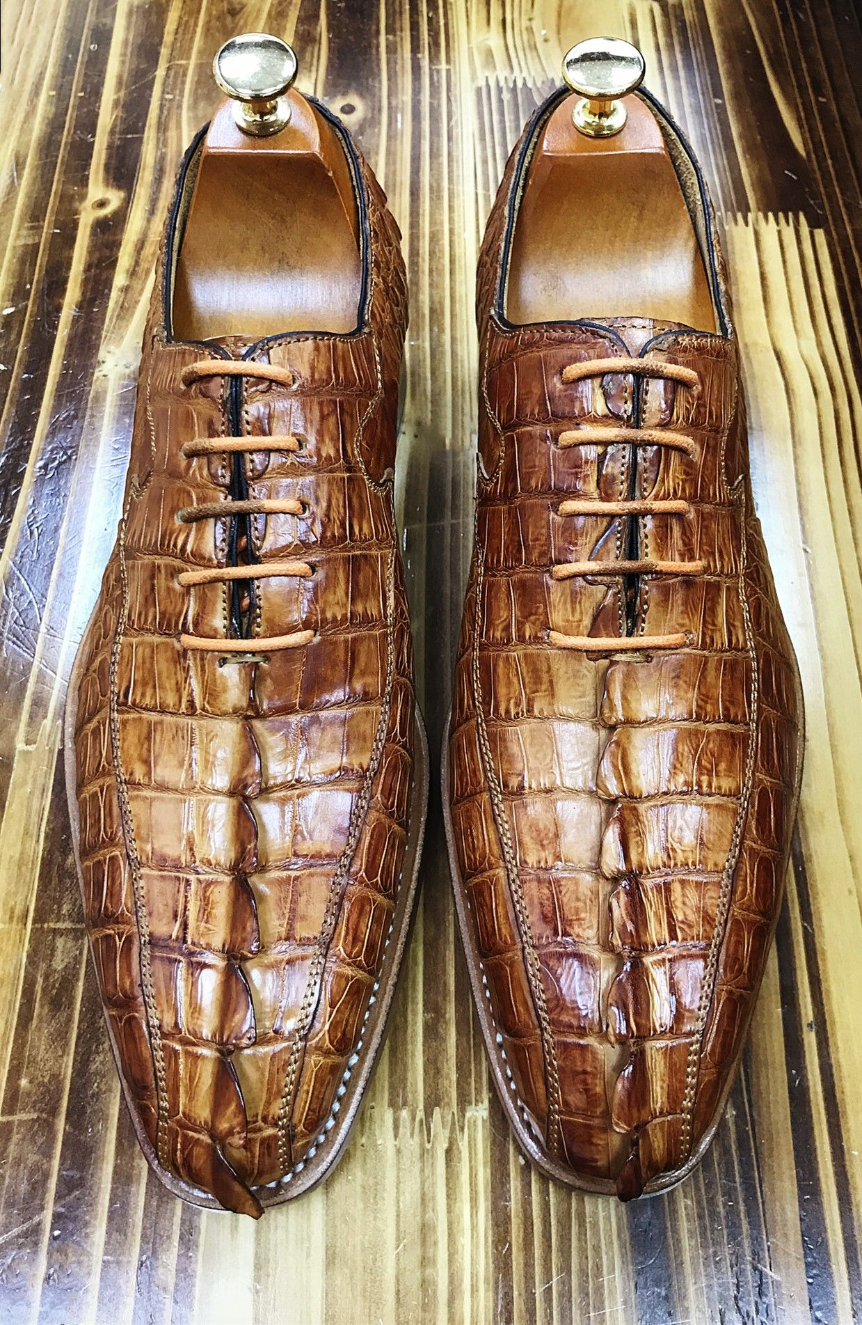 Casual business alligator shoes for men in 2020 dress