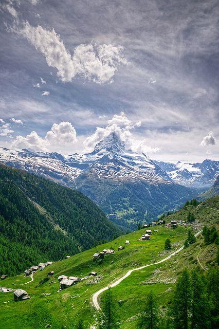 Matterhorn #4 -HDR | Landschaften usw. | Svájc, Utazás und ...
