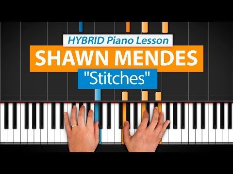 Shawn Mendes Stitches Piano Tutorial How To Play Stitches On