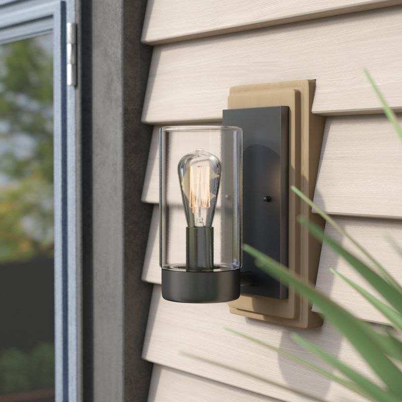 Cranmer 1 Light Dimmable Oil Rubbed Bronze Armed Sconce Outdoor Sconces Sconces Round Candle Tray