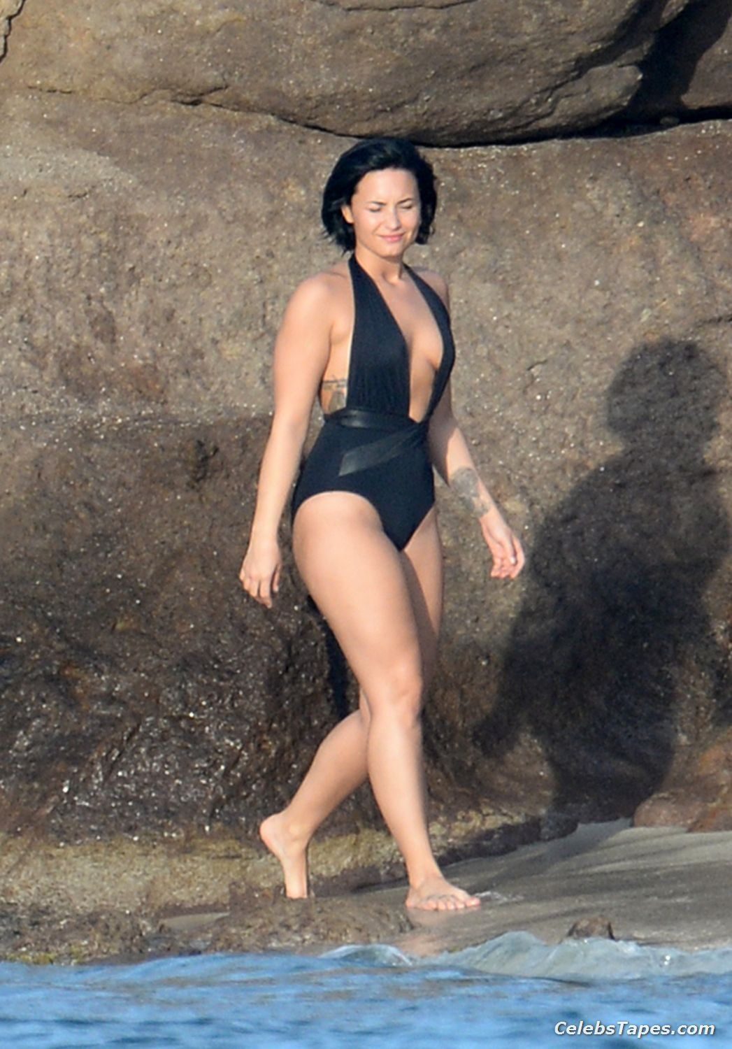 Demi Lovato Full Frontal Posing Photos Demi Lovato Booty In Tiny Bikini Demi Lovato