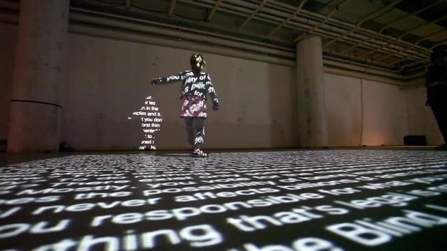 In Order to Control - Interactive Installation by NOTA BENE Visual. Interactive Installation