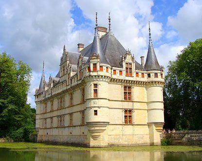 azay le rideau castle france