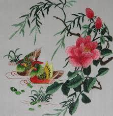 Resultado de imagen para tutorial bordado a mano con hilo de seda