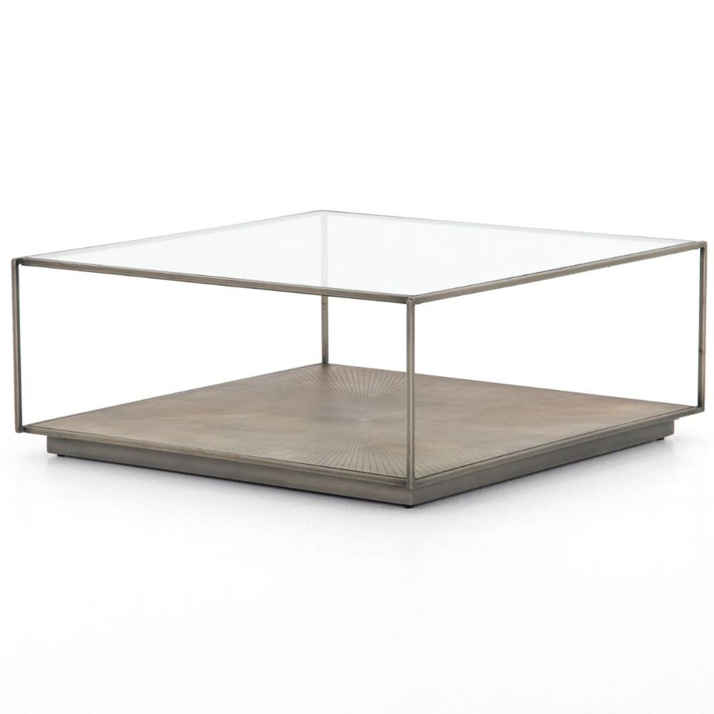 Sunburst Shadowbox Square Coffee Table 38 In 2021 Coffee Table Square Coffee Table Mirrored Coffee Tables [ 1000 x 1000 Pixel ]