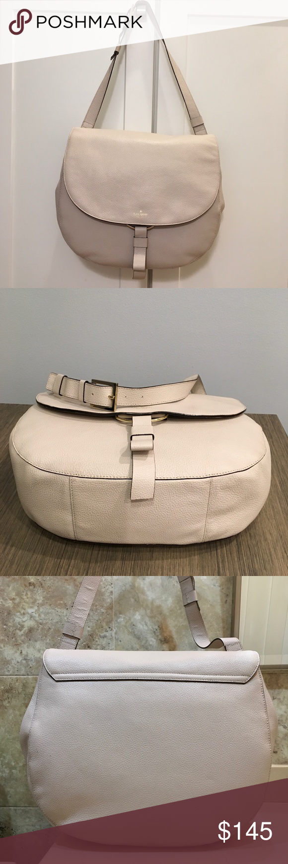 Kate Spade Hobo Kate Spade Large Hobo. Color Cream 15