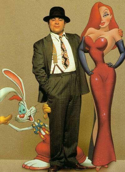 Roger Rabbit - Bob Hoskins - Jessica Rabbit: \'¿Quién engañó a Roger ...