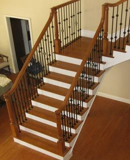 Best Idea Gallery Image Id T6 Stairs Wood Railings For 400 x 300