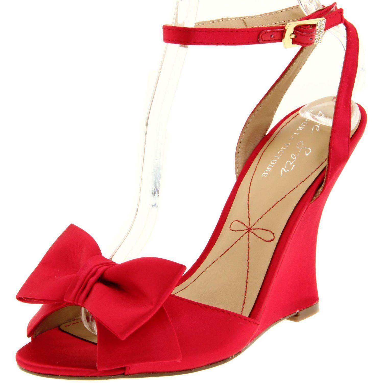Le Soir Pour La Victoire Women S Evelia Wedge Sandal Designer Shoes Handbags Jewelry