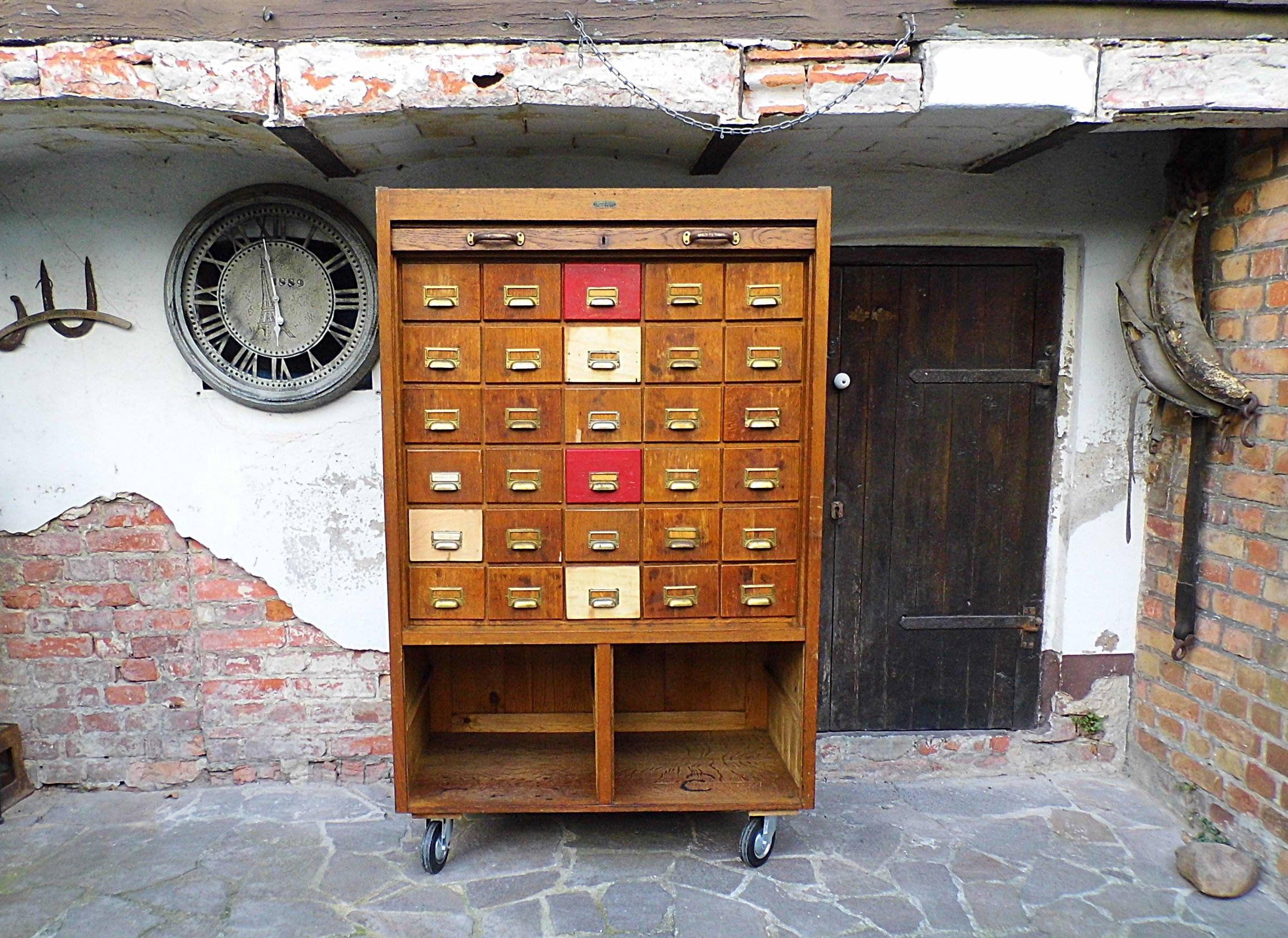 Schubladenschrank Rollladenschrank Bauhaus Buroschrank