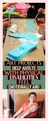Art Projects Help Adults With Physical Disabilities Feel Emotionally And