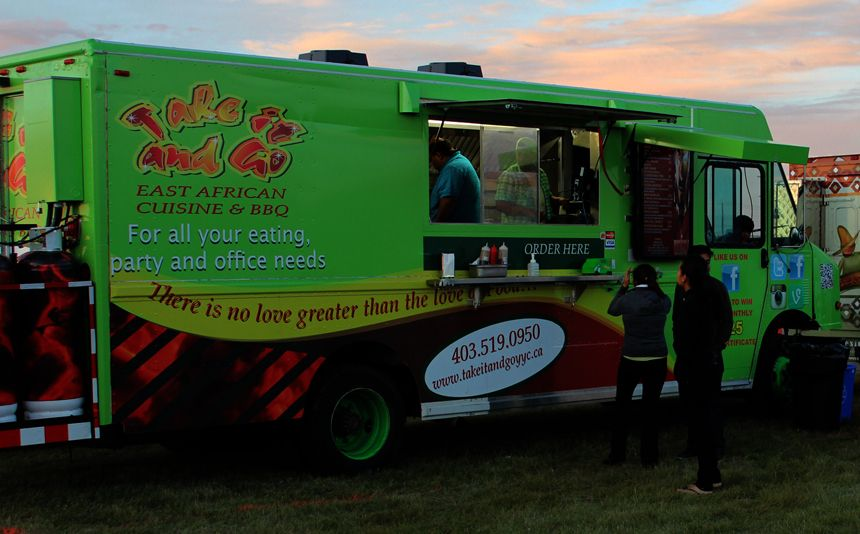 Take It And Go Calgary Food Truck will be at Country