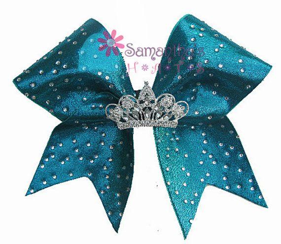 Tiara Cheer Bow