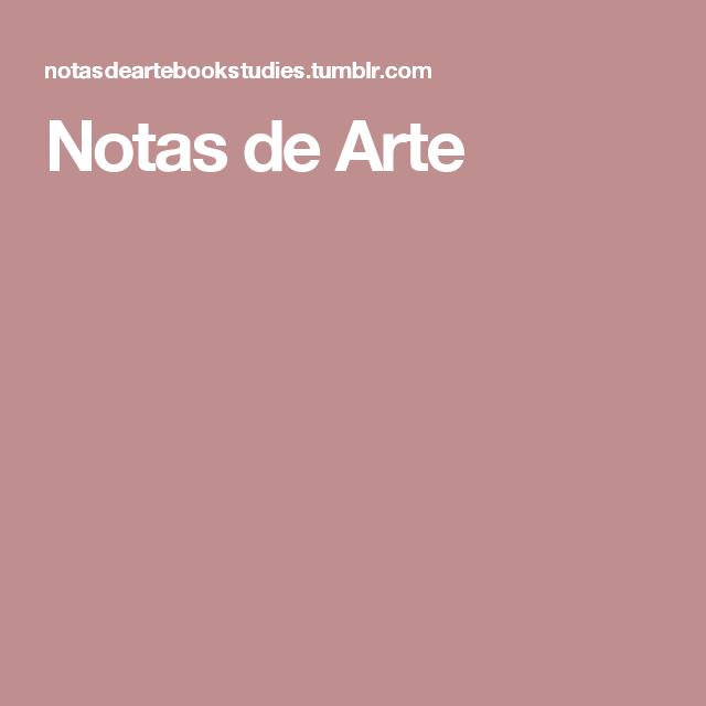 Notas de Arte