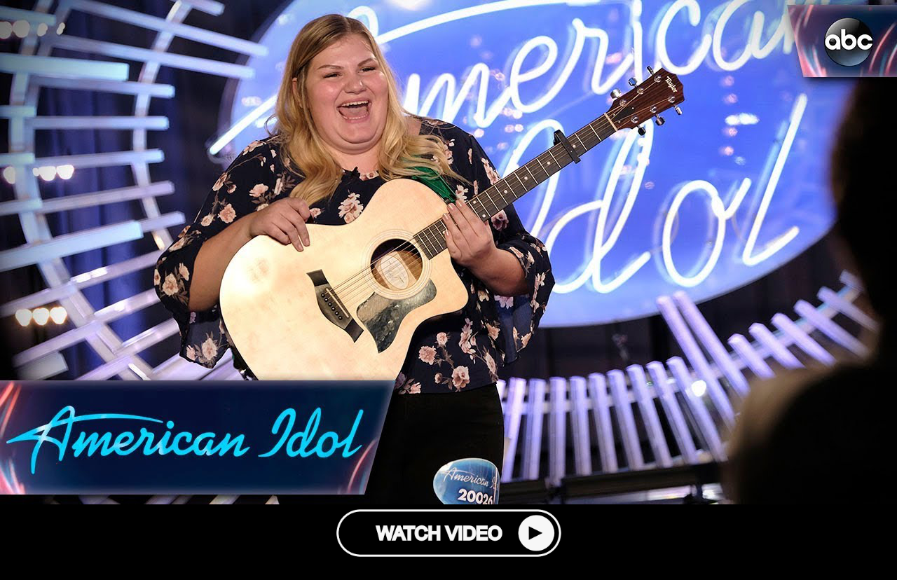 Maddie Zahm Brings Best Friend In For Her American Idol Audition