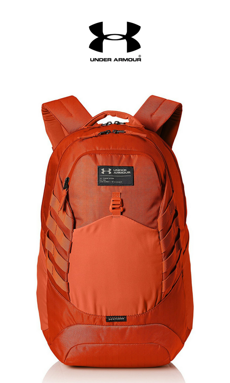 Under Armour - Hudson Backpack   Orange Blast   Click for Price and More    Under 2e59fa078e