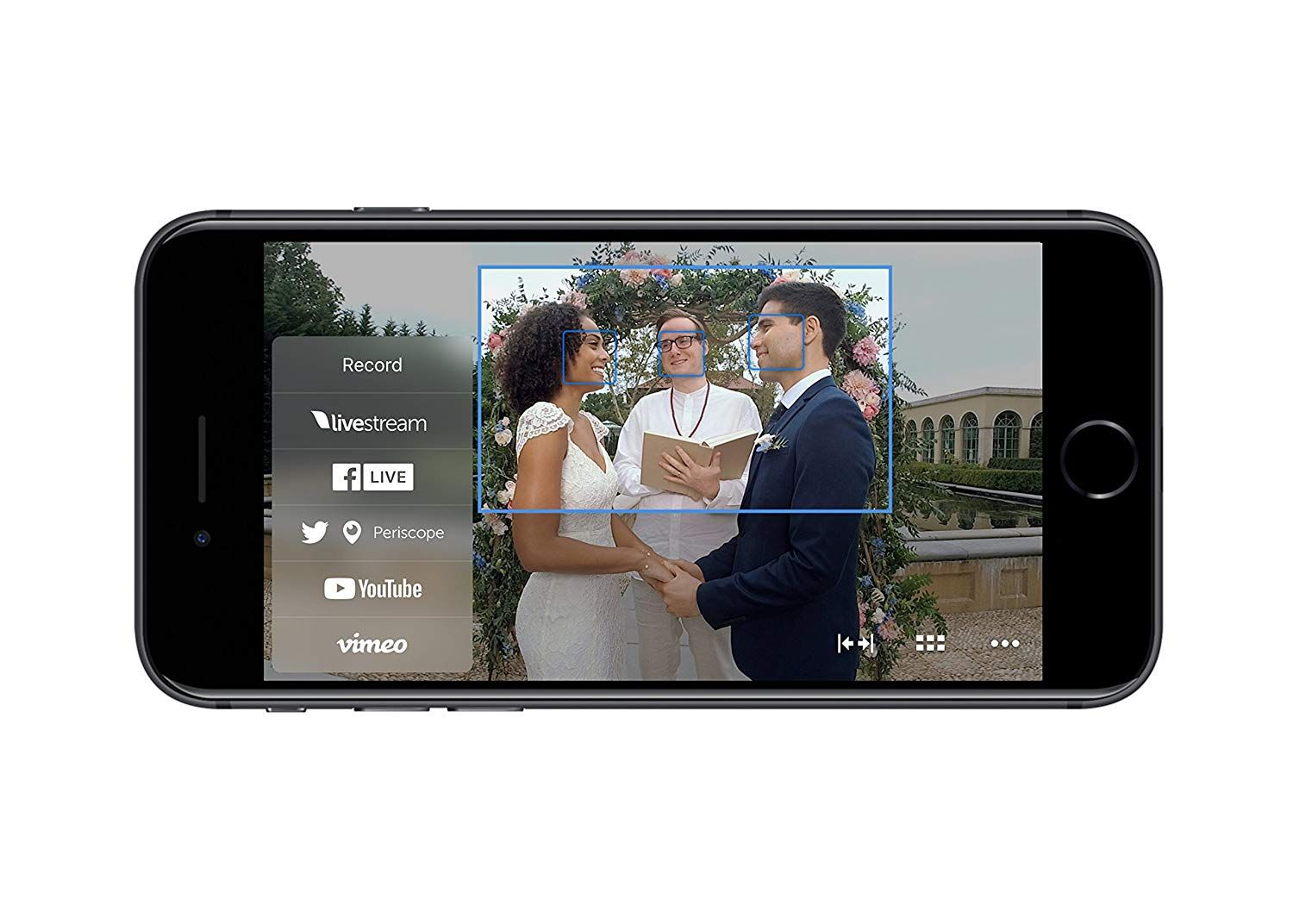 Best live video streaming device with iphone or ipad with