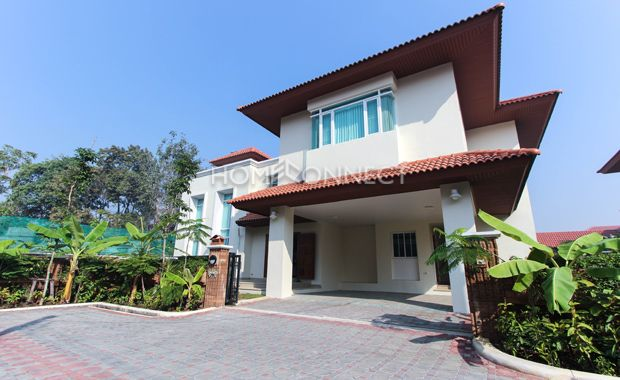 4 Bedroom House For Rent In Chaengwattana Area Renting A House 4 Bedroom House House