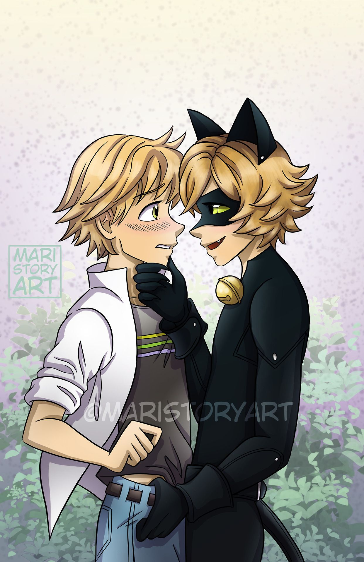 Adrien Video Porno Gay Dfe Miracoulus here's some risky~ chat noir x adrien for you all! mwhahaha