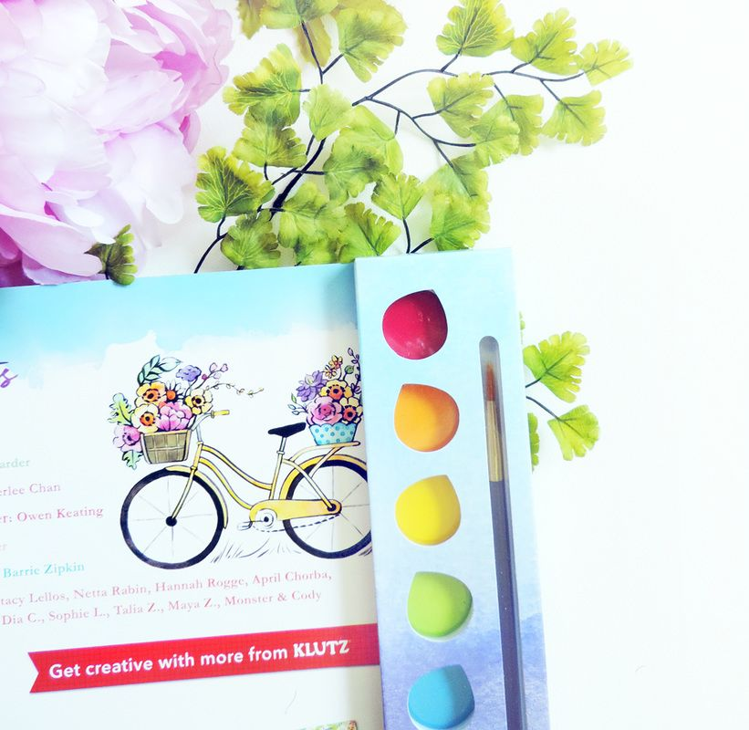 Watercolor Crush A Watercolor Coloring Book By Klutz And